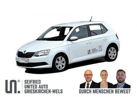 Skoda Fabia Act. 1,0*Klima*Touchscreen*8-fach Bereift* bei BM || Seifried United Auto Grieskirchen Wels in