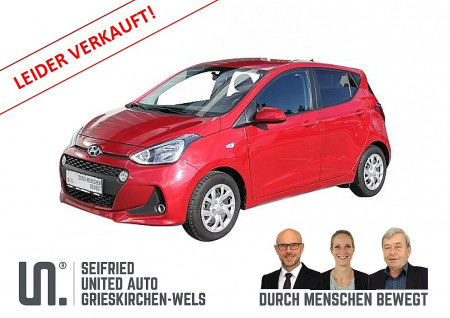 Hyundai i10 1,0 Edition 25 *Tempomat*Freisprech*8-fach bereift bei BM || Seifried United Auto Grieskirchen Wels in