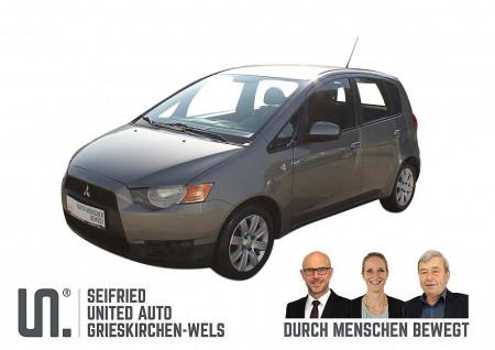 Mitsubishi Colt 5dr 1,3 MPI Invite * 95 PS * SR Alu * WR Stahl * §57a bis 09/2020 bei BM || Seifried United Auto Grieskirchen Wels in