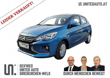 Mitsubishi Space Star 1,0 Inform AS&G *NEUES MODELL* bei BM || Seifried United Auto Grieskirchen Wels in