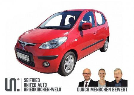 Hyundai i10 1,1 MPI Klima Sport 8-fach auf Felgen bereift bei BM || Seifried United Auto Grieskirchen Wels in