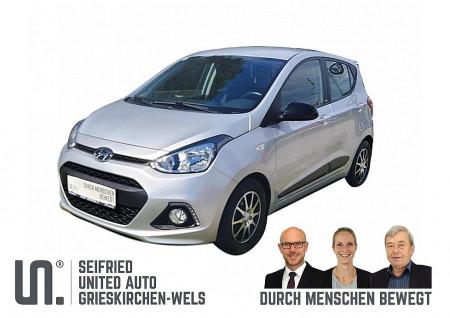 Hyundai i10 1,0 Black Line *Klima-Temp-Einp.-Service-Bremsen NEU-SR+WR* bei BM || Seifried United Auto Grieskirchen Wels in