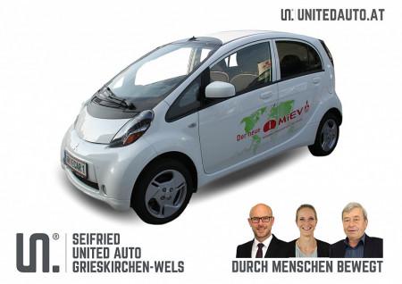 Mitsubishi iMiEV Elektro (inkl. Batterie) vorsteuerabzugsfähig * 0% Sachbezug bei BM || Seifried United Auto Grieskirchen Wels in