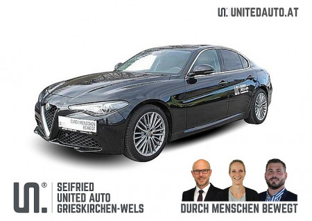 Alfa Romeo Giulia Super 2,2 180 AT RWD *Navi*PDC* WR* bei BM || Seifried United Auto Grieskirchen Wels in