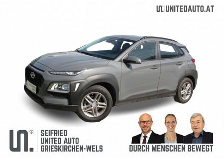 Hyundai KONA 120 PS Level 3 *Navi*Lenkrad-/Sitzheizung* bei BM || Seifried United Auto Grieskirchen Wels in