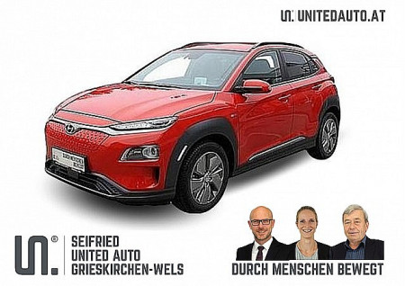 Hyundai Kona Elektro Level 5*kühlb.Sitze-Leder hell- ab Sept. 2020 verfügbar bei BM || Seifried United Auto Grieskirchen Wels in