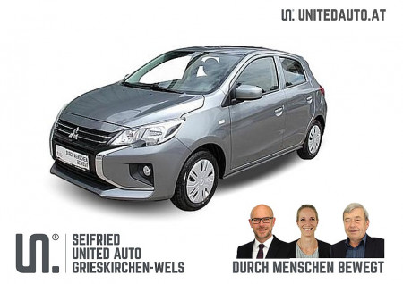Mitsubishi Space Star 1,0 Inform AS&G *€ 500,- BARAUSZAHLUNG – NEUES MODELL* bei BM || Seifried United Auto Grieskirchen Wels in