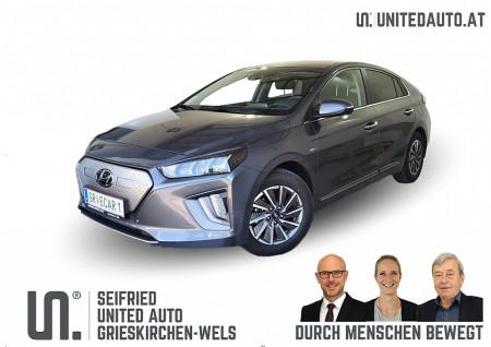 Hyundai Ioniq Elektro Level 6*RW WLTP 311 Km, Leder kühlbar, Wärmep. bei BM || Seifried United Auto Grieskirchen Wels in