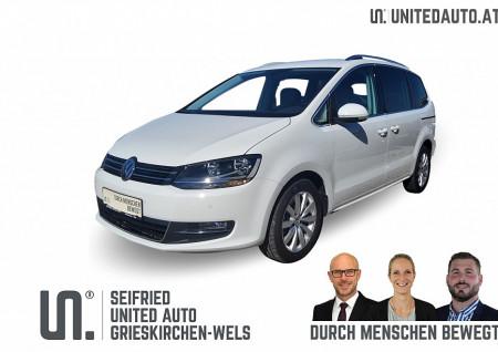 VW Sharan Highline SCR 2,0 TDI DSG 7 Sitze *NAVI*Alcantara*Vorsteuerabzug möglich bei BM || Seifried United Auto Grieskirchen Wels in