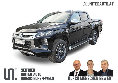 Mitsubishi L 200 2,2 DI-D HP 4WD DK Diamond AT*Leder*VOLL-LED*Kamera*Park vo u hi bei BM || Seifried United Auto Grieskirchen Wels in