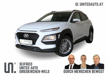 Hyundai Kona 1,6 CRDi 2WD Level 3 Plus *Navi, Regensensor, Lenkrd.+Sitzhzg.* bei BM || Seifried United Auto Grieskirchen Wels in