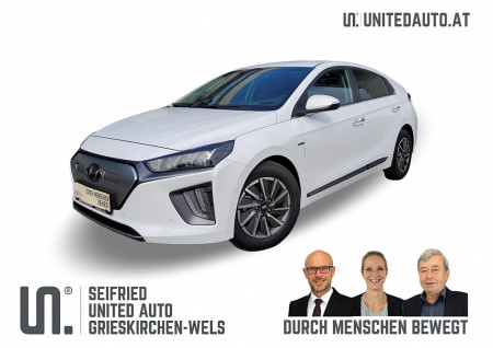 Hyundai Ioniq Elektro Level 5*RW WLTP 311 Km, Voll-LED, Wärmep., Bluelink bei BM || Seifried United Auto Grieskirchen Wels in