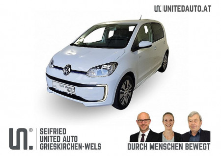 VW Up Elektro mit Batterie *Alu, Stzhg, Climatronic, Temp.* bei BM || Seifried United Auto Grieskirchen Wels in