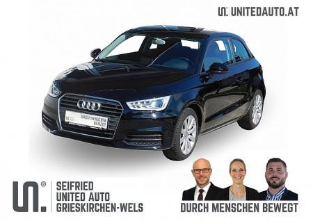 Audi A1 1,0 TFSI *Navi, Xenon plus, Sitzhzg.,Freisprech, Alu* bei BM || Seifried United Auto Grieskirchen Wels in