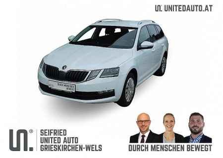Skoda Octavia Combi 1,6 TDI Ambition DSG  *Navi, LED, AHK, Kofferr. el., Sitzhzg* bei BM || Seifried United Auto Grieskirchen Wels in