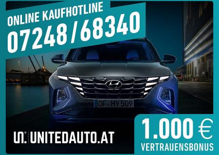 Hyundai Tucson 1,6 Smart Line 1,6 T-GDI 2WD – ab 02/2021 bei BM || Seifried United Auto Grieskirchen Wels in