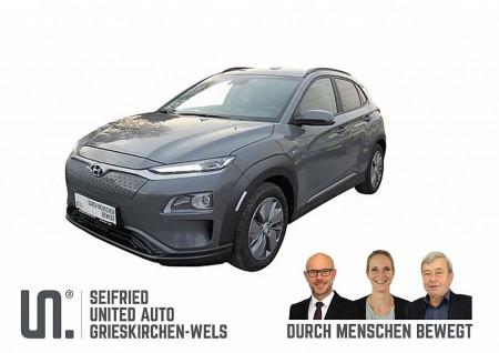 Hyundai Kona Elektro Level 3 * 3-phasig 39,2 kWh – RW WLTP 289km bei BM || Seifried United Auto Grieskirchen Wels in