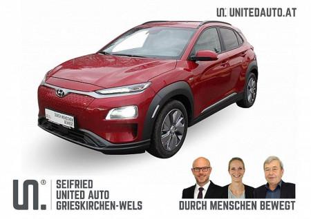 Hyundai Kona Elektro Level 4 * 3-phasig 39,2 kWh – RW WLTP 289km bei BM || Seifried United Auto Grieskirchen Wels in