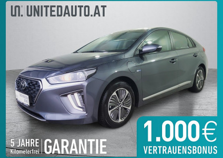 Hyundai Ioniq 1,6 GDi Plug-In Hybrid Level 3 *Abstandstemp.-Rückf.kam.-Winterpak. bei BM || Seifried United Auto Grieskirchen Wels in