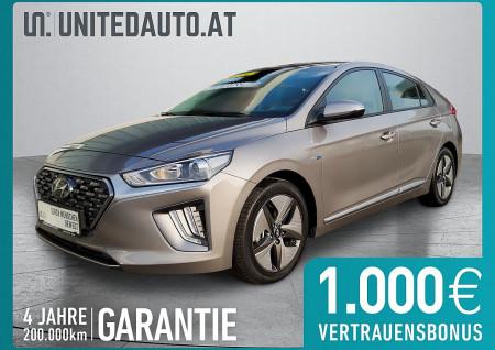 Hyundai Ioniq 1,6 GDi Hybrid Level 3 DCT *Rückf.kam.-Spurhalteass.-Naviapp* bei BM || Seifried United Auto Grieskirchen Wels in