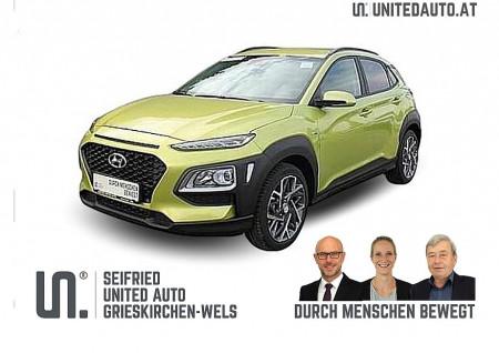 Hyundai Kona 1,6 GDI Hybrid Level 3 Plus DCT Aut. bei BM || Seifried United Auto Grieskirchen Wels in