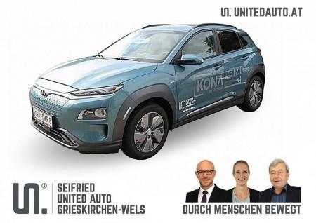 Hyundai Kona EV L 5 * netto € 27.592,-* exkl. Invest/Öko-Förd. bis 02/21 bei BM || Seifried United Auto Grieskirchen Wels in