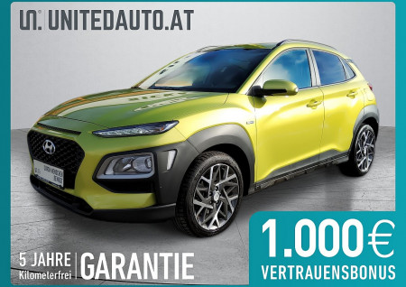 Hyundai KONA 1,6 GDI Hybrid Level 3 Plus DCT Aut. bei BM || Seifried United Auto Grieskirchen Wels in