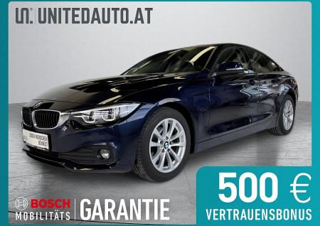 BMW 418d Gran Coupe Advantage Aut.*LED, Navi groß, el. Heckkl., Leder, Shzg*,Led bei BM || Seifried United Auto Grieskirchen Wels in