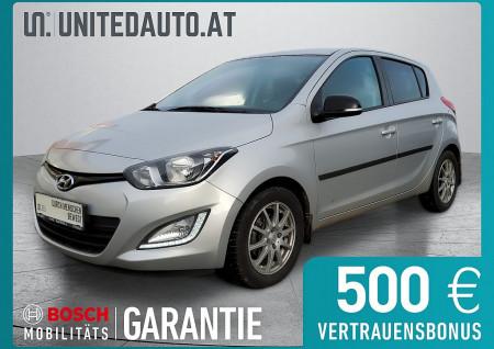 Hyundai i20 1,25 Go *Klima, Tempomat, 8fach bereift* Life Go bei BM || Seifried United Auto Grieskirchen Wels in