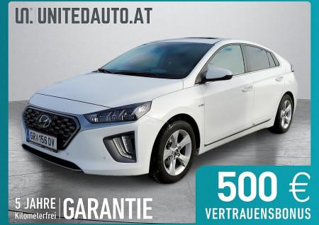 Hyundai Ioniq 1,6 GDi Hybrid Level 6 DCT Aut.*Wärmepumpe, Voll-LED, Schiebedach* bei BM || Seifried United Auto Grieskirchen Wels in