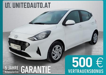 Hyundai i10 1,0 Level 2*67PS*Temp*Einpark hinten*Klima*Freispr.*ZV-Funk bei BM || Seifried United Auto Grieskirchen Wels in