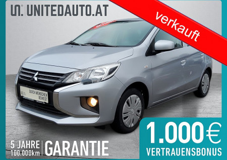 Mitsubishi Space Star 1,0 Inform *Klima* bei BM || Seifried United Auto Grieskirchen Wels in