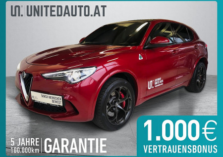 Alfa Romeo Stelvio Quadrifoglio 2,9 V6 510PS ATX AWD BI TURBO bei BM || Seifried United Auto Grieskirchen Wels in