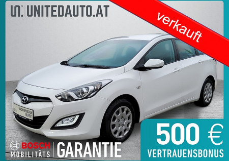 Hyundai i30 CW 1,4 CVVT Europe Plus bei BM || Seifried United Auto Grieskirchen Wels in