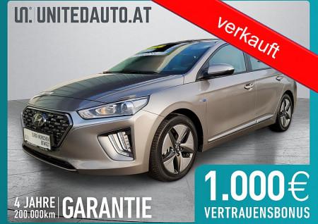 Hyundai IONIQ1,6 Benzin Level 3 DCT *Rückf.kam.-Spurhalteass.-Naviapp* bei BM || Seifried United Auto Grieskirchen Wels in