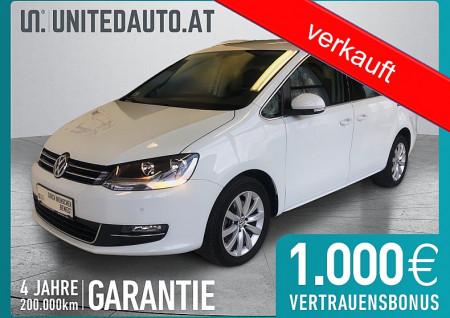 VW Sharan Highl. 2,0 TDI DSG 7 Sitze *NAVI*Alcantara*el. Schiebetüren Highline bei BM || Seifried United Auto Grieskirchen Wels in