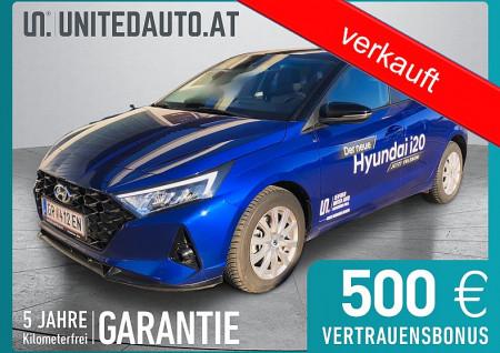 Hyundai i20 1,0 T-GDI Trend Line DCT/10,25″Touchdisplay bei BM || Seifried United Auto Grieskirchen Wels in