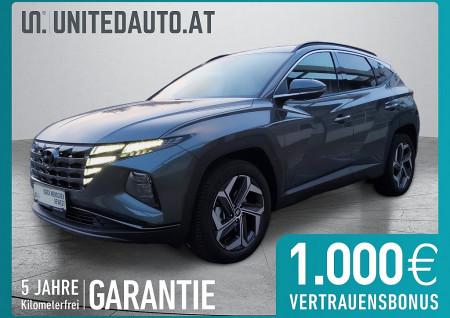 Hyundai TUCSON Prestige Line 1,6 T-GDi HEV 4WD AT *Systemleistung 230 PS* bei BM || Seifried United Auto Grieskirchen Wels in