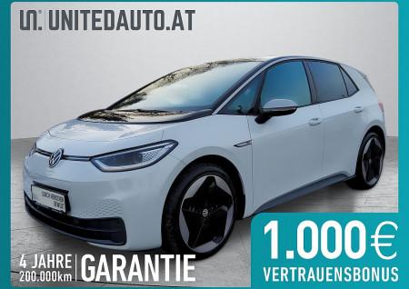 VW ID. 3 1st Ed. Max mit WP * netto € 31.669,- * exkl. Invest/Öko-Förd. bis 05/2021 1st Edition Max bei BM || Seifried United Auto Grieskirchen Wels in