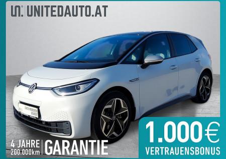 VW ID. 3 1st Ed Plus mit WP * netto € 27.656,- * exkl. Invest/Öko-Förd. bis 05/2021 bei BM || Seifried United Auto Grieskirchen Wels in