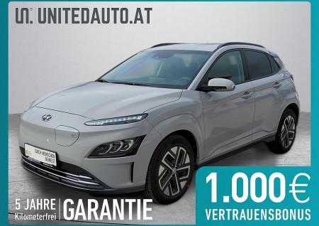 Hyundai KONA EV Trend Line Facelift € 26.258,- netto nach aws und Öko, AHK möglich KONA EV Smart Line bei BM || Seifried United Auto Grieskirchen Wels in