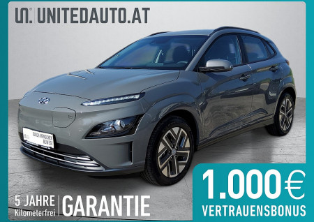 Hyundai KONA EV Smart Line Facelift *APP-NAVI, RFK, Spurhalteass., SHZ* bei BM || Seifried United Auto Grieskirchen Wels in