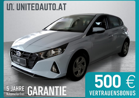Hyundai i20 1,2 MPI i-Line Plus/Sitz u. Lenkradh./Tempom. bei BM || Seifried United Auto Grieskirchen Wels in