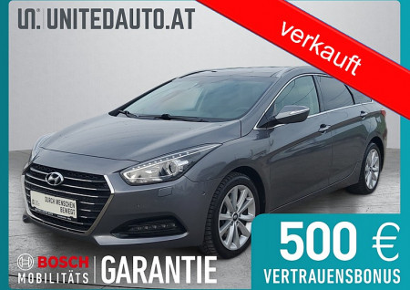 Hyundai i40 Platin 1,7 CRDi DCT Start/Stopp Aut. *Panorama*BI-XENON*3D NAVI*Privacy Glass* bei BM || Seifried United Auto Grieskirchen Wels in