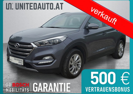 Hyundai TUCSON 1,7 CRDi Premium *Winterpaket, Temp, Einpark.hi., Klimaautomatik* bei BM || Seifried United Auto Grieskirchen Wels in