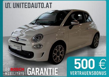 Fiat 500 1,2 Fire 70 Rockstar*Panoramadach,PDC,Freisprech,Navi* bei BM || Seifried United Auto Grieskirchen Wels in