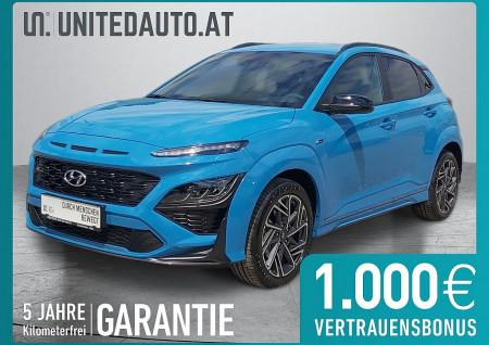 Hyundai KONA N Line 1,0 Turbo-GDi *NAVI-APP, Voll-LED, Sportpaket* bei BM || Seifried United Auto Grieskirchen Wels in