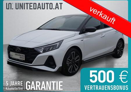 Hyundai i20 1,0 Turbo-GDI N-Line *Spurhalteass.*Klimaaut.*RFKAM*SHZ* bei BM || Seifried United Auto Grieskirchen Wels in