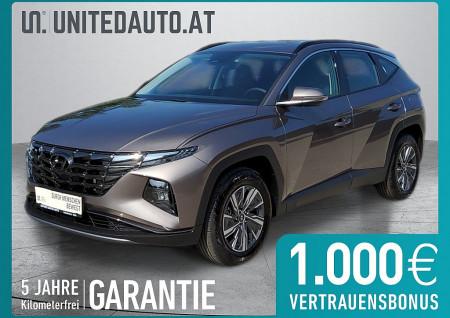 Hyundai TUCSON Smart Line 1,6 T-GDI 2WD *Voll LED*Fernlichtassist.,2-Zonen Klimaaut.,Spurhalte-u. Spurfolgeassist.* bei BM || Seifried United Auto Grieskirchen Wels in