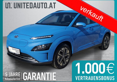 Hyundai KONA EV Smart Line Facelift bei BM || Seifried United Auto Grieskirchen Wels in